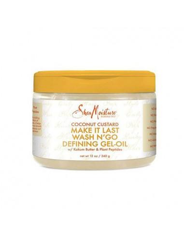 Shea Moisture Coconut Custard Make it Last Wash N'go Defining Gel-Oil