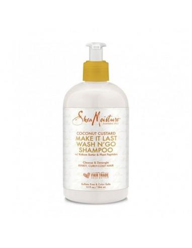 Shea Moisture Coconut Custard Make it Last Wash N'go Shampoo